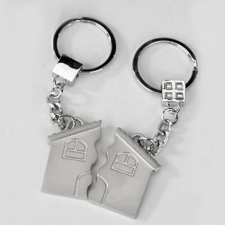 Schlüsselanhänger für Paare Satz Haus Formano