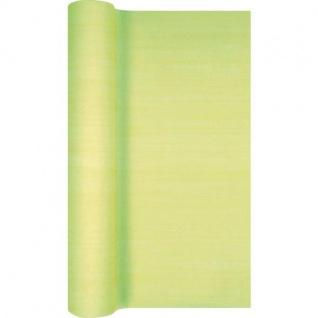 Papier Vlies Tischläufer Tischband SWIRLY dunkelgrün 30x500cm Home Fashion