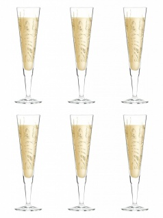 6er Set Ritzenhoff CHAMPUS Champagnerglas by Shibuleru 2019
