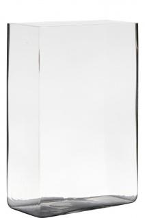 Dekoglas Jardinere Schale RECTANGULA 30x20x10cm klar rechteckig Glas Hakbijl