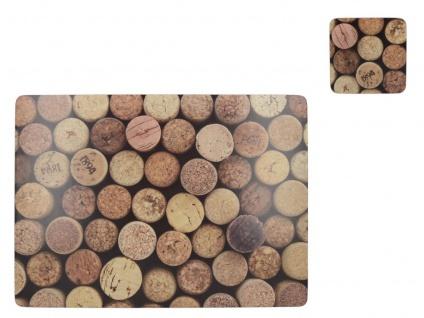 Set Platzdeckchen Tischset Platzset Filz Tischdecke Deckchen 25x25 Untersetzer