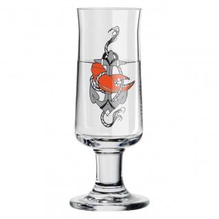 Ritzenhoff SCHNAPPS Schnapsglas Pinnchen Anker by Tobias Tietchen 2020