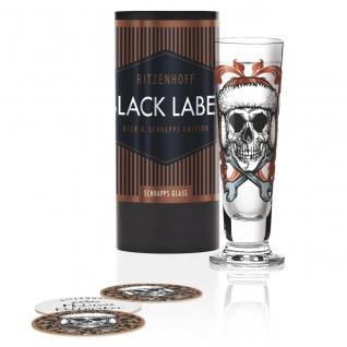 Ritzenhoff Black Label Schnapsglas, Pinnchen by Medusa Dollmaker 2019