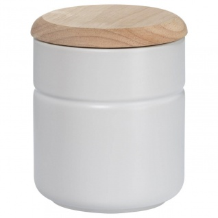Vorratsdose Teedose TINT Weiß Holzdeckel 600ml H. 12, 5cm Maxwell & Williams