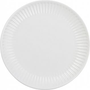 Speiseteller Essteller MYNTE PURE WHITE weiß D. 28cm Ib Laursen
