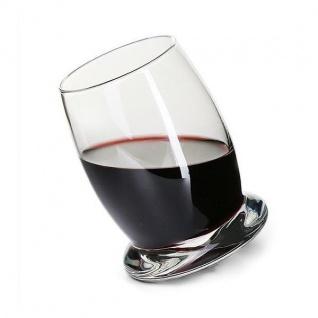 6er Set Longdrink Gläser Trinkgläser CHRISTIAN H. 12cm runder Boden la vida