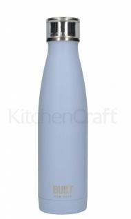 Built Bottle Trinkflasche für 500ml Edelstahl hellblau Arctic Blue Kitchen Craft