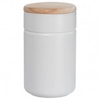 Vorratsdose Teedose TINT Weiß Holzdeckel 900 ml H. 17cm Maxwell & Williams