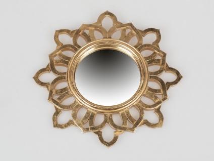 Wandspiegel GOLDMIRROR D. 30cm gold Formano