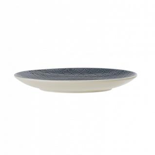 Kuchenteller, Dessertteller Naomi 1 D. 20cm blau weiß Keramik Bloomingville - Vorschau 2