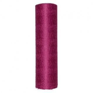 Deko Netz Band Tüll, Schleifenband B. 25cm pink 10m Rolle (1m=0, 69 EUR) Halbach