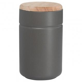 Vorratsdose Teedose TINT Dunkelgrau Holzdeckel 900 ml H. 17cm Maxwell & Williams
