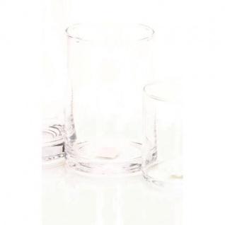 12er SET Teelichthalter Dekogläser Vasen ZYLINDER H. 15cm Ø 10cm Rudolph Keramik