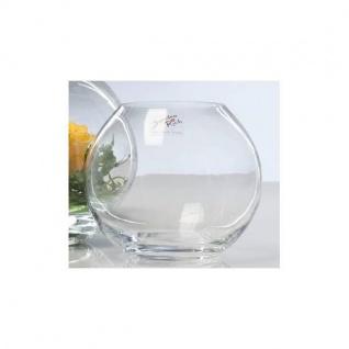 6er Set Kugelvasen, Teelichthalter GLOBE KUGEL Glas H. 11cm D. 12cm Sandra Rich