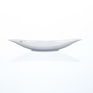 Porzellanschale, Dekoteller BOAT 38, 5x12, 5cm H. 6cm weiß Sandra Rich