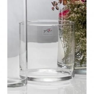 6er Set Glasvasen CYLI H. 15cm D. 15cm Glas zylindrisch rund Sandra Rich