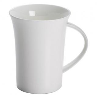 Becher, Tasse CASHMERE VILLA 350ml weiß rund Porzellan Maxwell & Williams