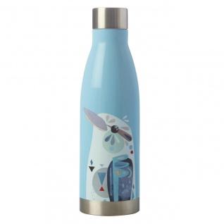 Pete Cromer Trinkflasche Kookaburra Vogel hellblau für 500ml Maxwell & Williams