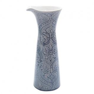 Dekovase, Krug PREGO BOTANIC grau blau H. 29, 5cm D. 10cm Keramik A.U Maison WA - Vorschau