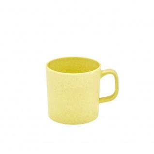 Henkelbecher, Tasse Bambus gelb Magu für 350ml NATUR DESIGN WA