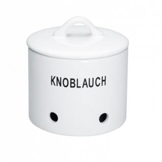 Knoblauchtopf BIANCO NOVO weiß Keramik MAGU