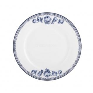 SpeisetellerCOUNTRY Porzellan weiß blau Landhausstil Ø 27cm Creative Tops WA
