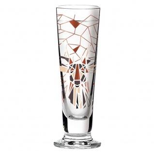 Ritzenhoff Black Label Schnapsglas, Pinnchen HIRSCH by Kurz Kurz Design 2016
