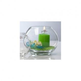 6er Set Kugelvasen Teelichthalter GLOBE KUGEL Glas H. 9, 5cm D. 10cm Sandra Rich