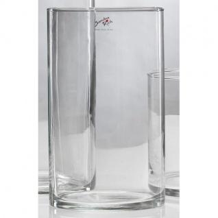 6er SET Dekogläser Glasvasen CYLI H. 20cm Ø 15cm Glas zylindrisch Sandra Rich