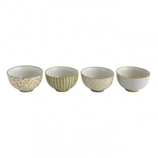 4er Set Müslischalen Poppy D. 11, 5cm H. 6, 5cm 300ml Keramik Bloomingville WA