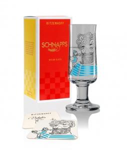 Ritzenhoff SCHNAPPS Schnapsglas, Pinnchen Natalia Yablunovska 2019