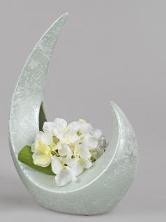 Deko Vase SPRINGTIME in Mondform 27x38cm grün Keramik Formano F21