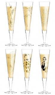 6er Set Ritzenhoff CHAMPUS Champagnergläser ALLE MOTIVE 2020