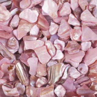 Perlmutt Dekosteine, Streudeko 10-20mm (1L=13, 90EUR) rosa 500ml Dose EUROSAND
