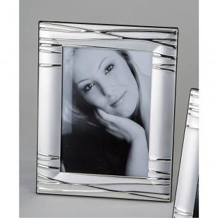 Fotorahmen, Bilderrahmen LINIEN für 13x18cm silber Metall Formano