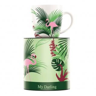 Ritzenhoff MY DARLING Kaffeebecher, Tasse FLAMINGO by Melanie Wüllner 2017
