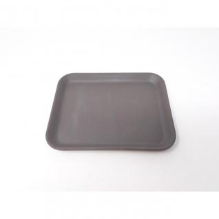 Serviertablett, Tablett, Bambus schiefer grau schwarz 19x15cm Magu NATUR DESIGN