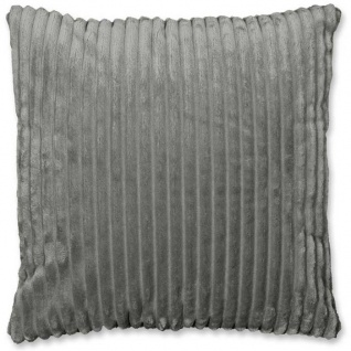 Kissenhülle Kissenbezug DEZ Grey grau 45x45cm Lemetex