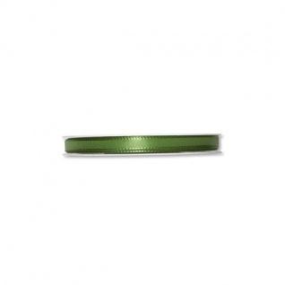 Schleifenband, Dekoband 08mm grün 50m Rolle (1m=0, 09EUR) Halbach