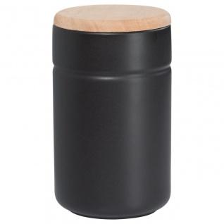 Vorratsdose Teedose TINT Schwarz Holzdeckel 900 ml H. 17cm Maxwell & Williams