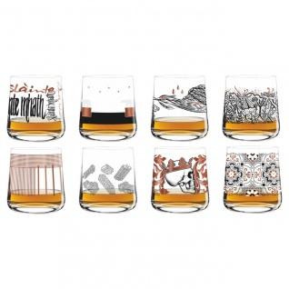 8er SET Ritzenhoff NEXT WHISKY Whiskygläser Alle Motive 2017
