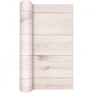 Papier Tischläufer HOLZ OPTIK creme 40x490cm Airlaid Home Fashion