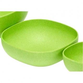 Schale, Schüssel eckig grün 15x15cm H. 5cm Magu NATUR DESIGN