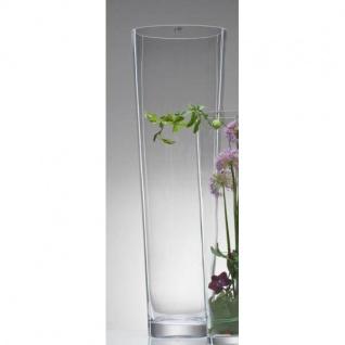 Glasvase Bodenvase Dekoglas CONICAL konisch rund H 70cm D. 22cm Glas Sandra Rich