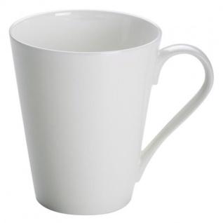 Becher, Tasse kegelförmig CASHMERE VILLA 320ml weiß Porzellan Maxwell & Williams