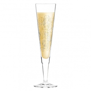 Ritzenhoff CHAMPUS Champagnerglas Blossoms Blüten by L. Kühnertová 2020