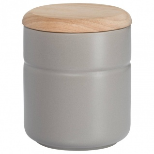 Vorratsdose Teedose TINT Hellgrau Holzdeckel 600ml H. 12, 5cm Maxwell & Williams