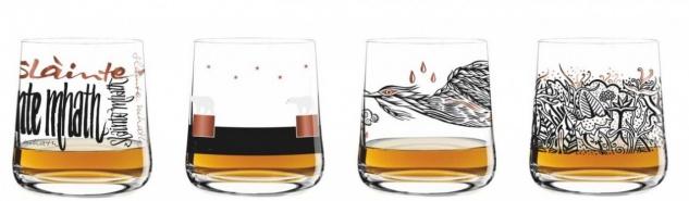 4er SET Ritzenhoff NEXT WHISKY Whiskygläser Trinkgläser Serie 1 2017