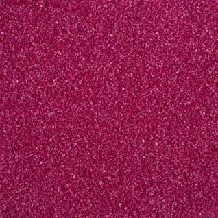 Farbsand, Dekosand 0, 1-0, 5 mm fuchsia 1 Kg (1 Kg = 1, 95EUR) Eurosand