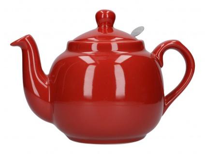 Teekanne London Pottery Farmhouse rot 1000ml Keramik Creative Tops